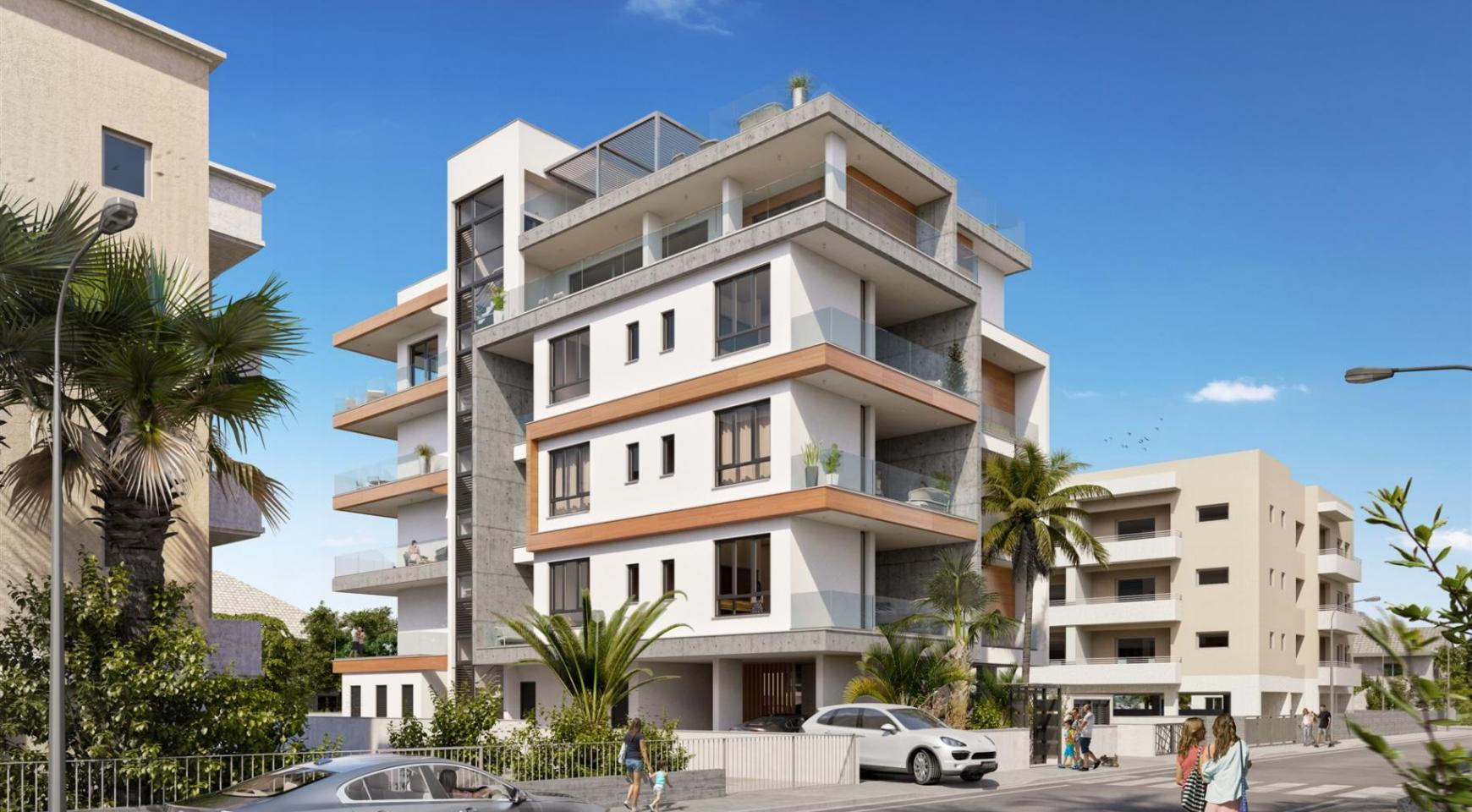 HORTENSIA RESIDENCE. Luxury 3 Bedroom Apartment 203 Near the Sea - 3