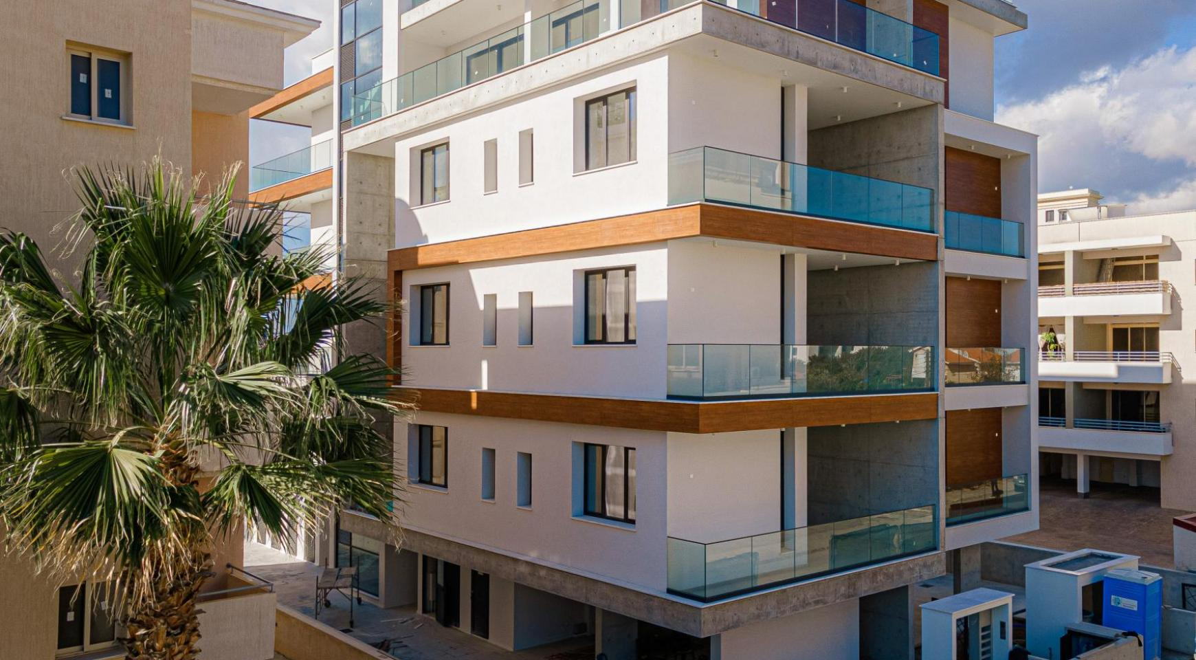 Hortensia Residence, Apt. 202. 2 Bedroom Apartment within a New Complex near the Sea  - 5