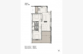 Hortensia Residence, Apt. 202. 2 Bedroom Apartment within a New Complex near the Sea  - 130