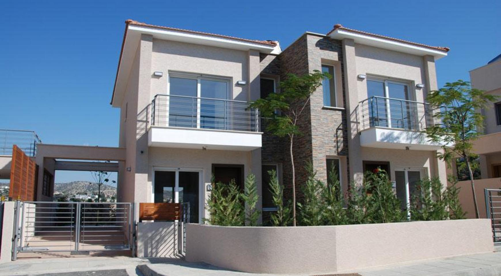 New 2 Bedroom House with Sea and Mountain Views in Mesovounia - 2