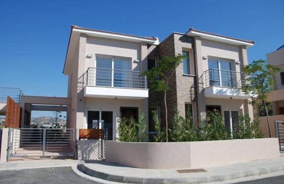 New 2 Bedroom House with Sea and Mountain Views in Mesovounia