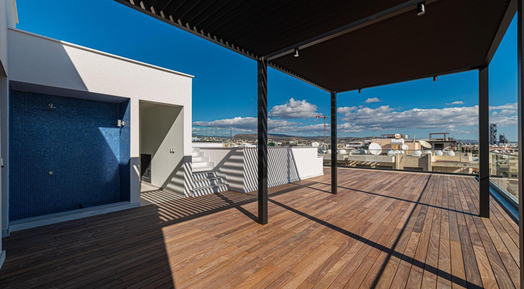 Hortensia Residence, Apt. 201. 2 Bedroom Apartment within a New Complex near the Sea  - 12