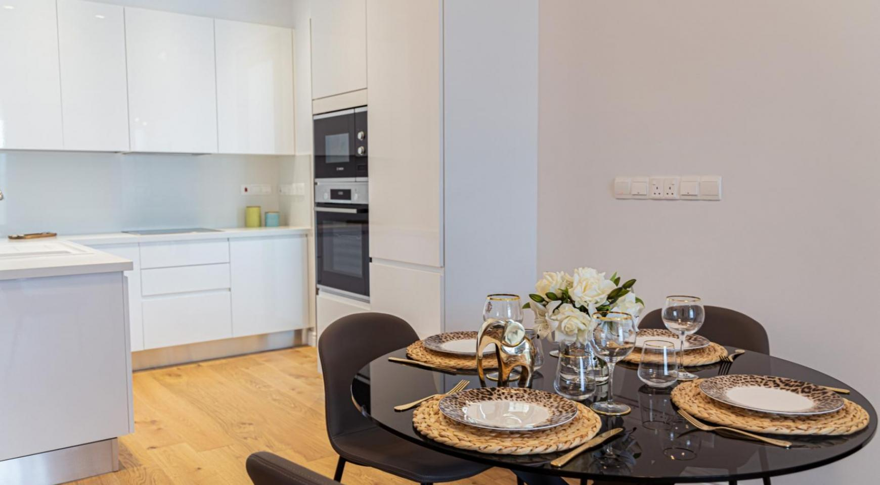 Hortensia Residence, Apt. 201. 2 Bedroom Apartment within a New Complex near the Sea  - 55