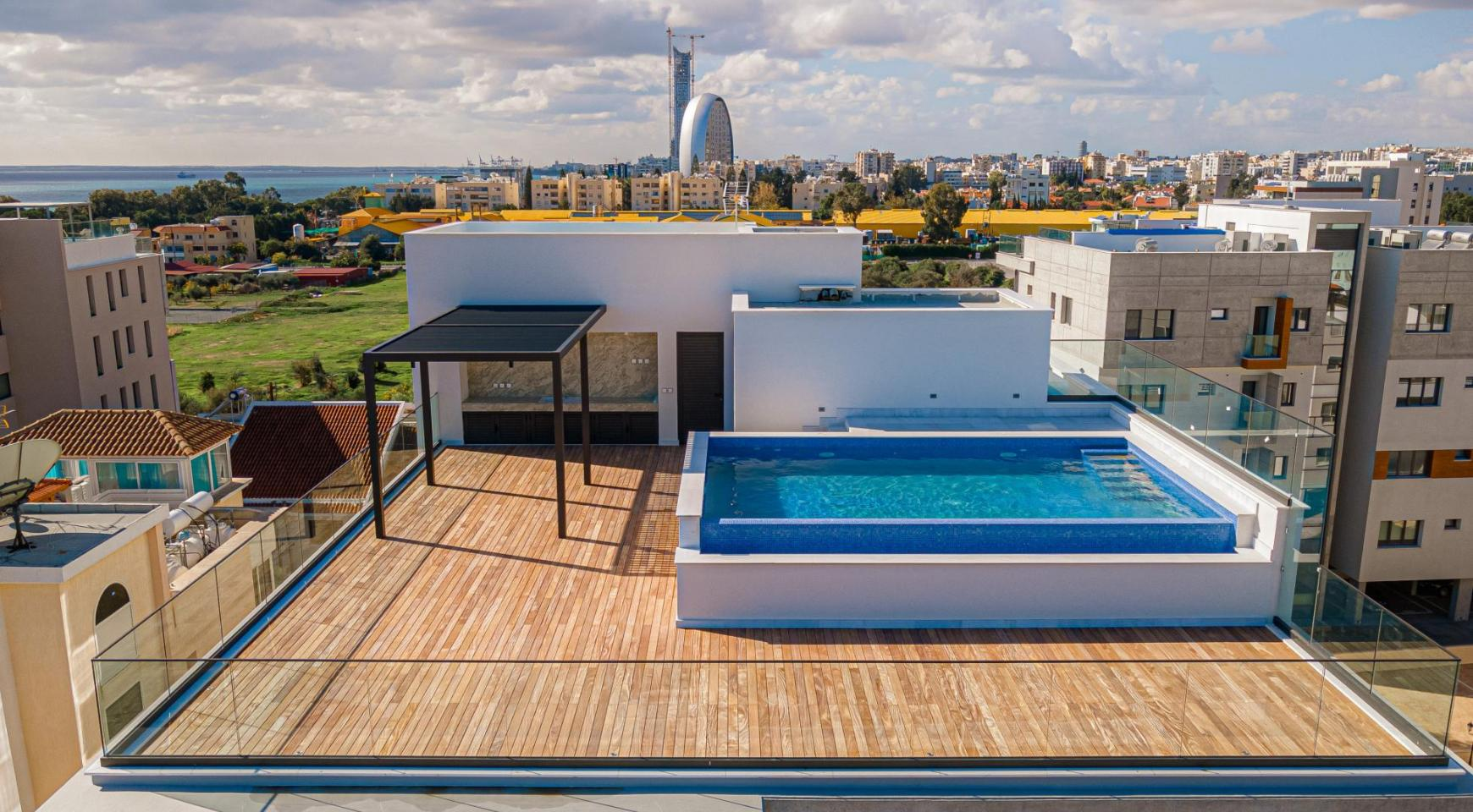 Hortensia Residence, Apt. 201. 2 Bedroom Apartment within a New Complex near the Sea  - 7