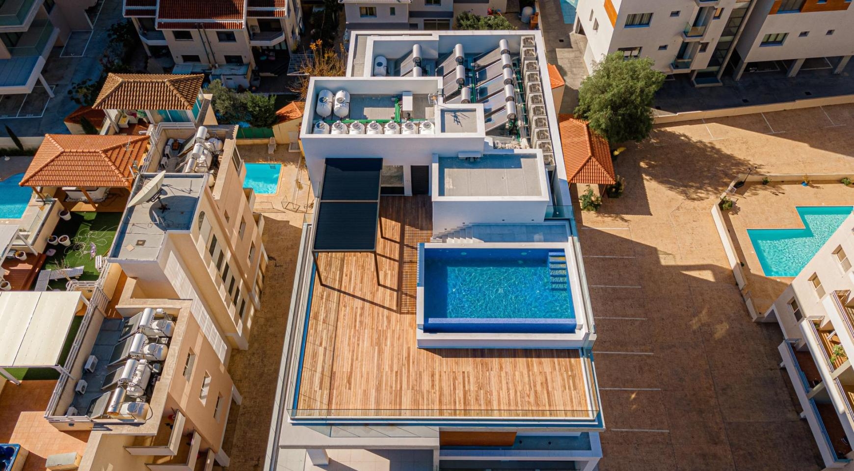 Hortensia Residence, Apt. 201. 2 Bedroom Apartment within a New Complex near the Sea  - 8
