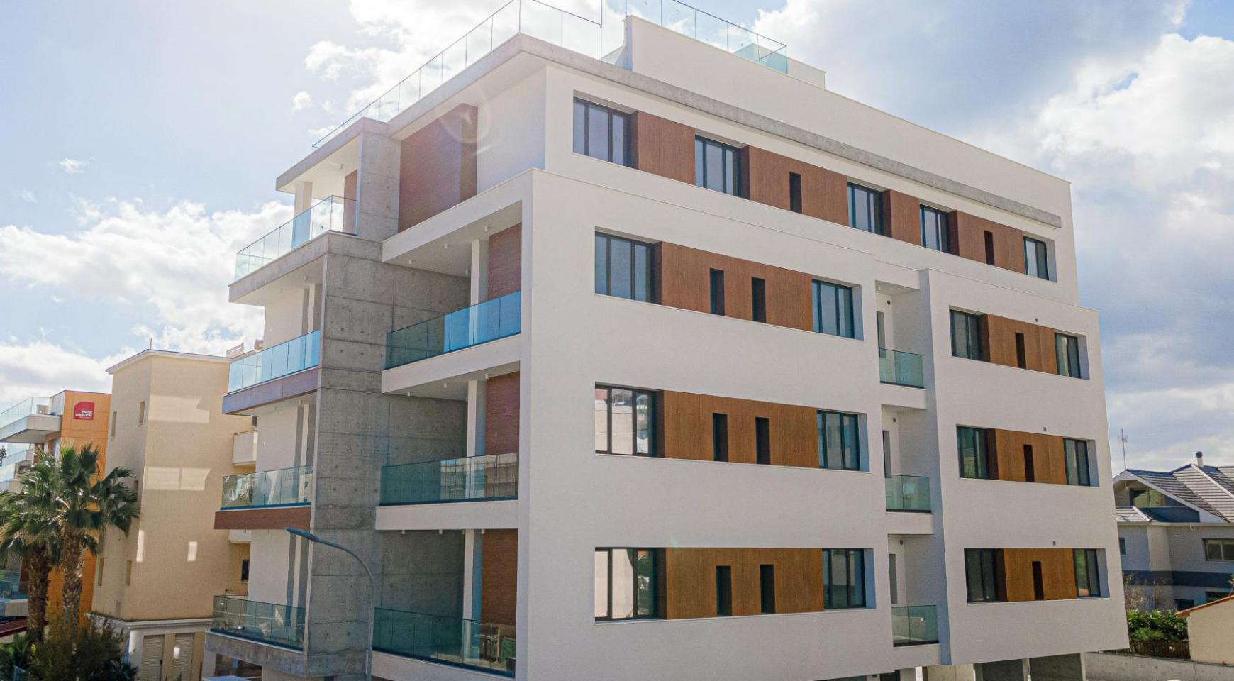 Hortensia Residence, Apt. 201. 2 Bedroom Apartment within a New Complex near the Sea  - 4