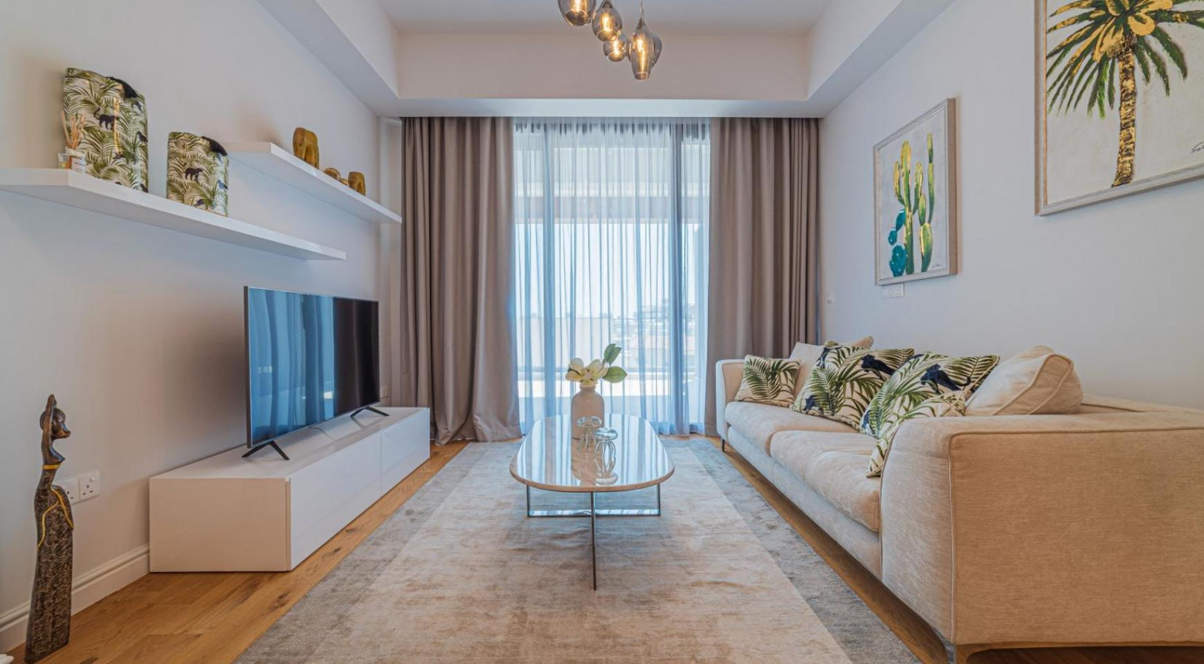 Hortensia Residence, Apt. 201. 2 Bedroom Apartment within a New Complex near the Sea  - 50