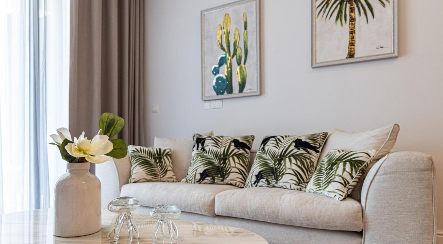 Hortensia Residence, Apt. 201. 2 Bedroom Apartment within a New Complex near the Sea  - 54