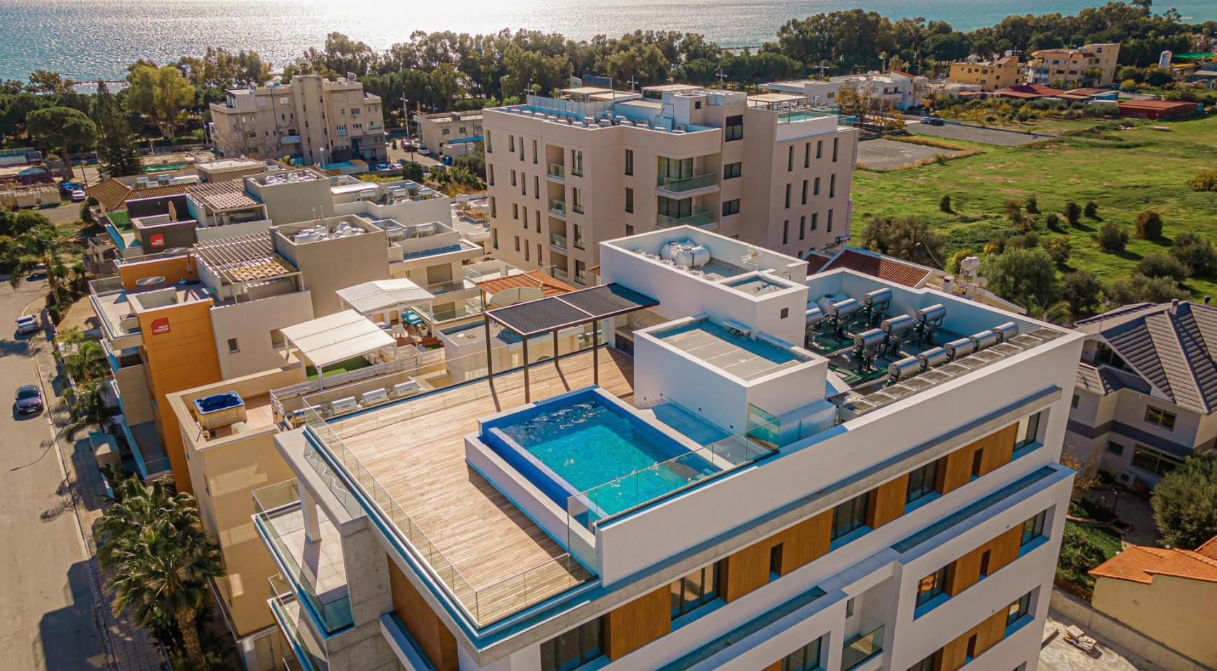 Hortensia Residence, Apt. 201. 2 Bedroom Apartment within a New Complex near the Sea  - 2