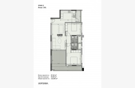 Hortensia Residence, Apt. 201. 2 Bedroom Apartment within a New Complex near the Sea  - 130