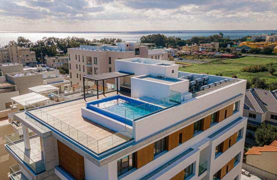 Hortensia Residence, Apt. 201. 2 Bedroom Apartment within a New Complex near the Sea