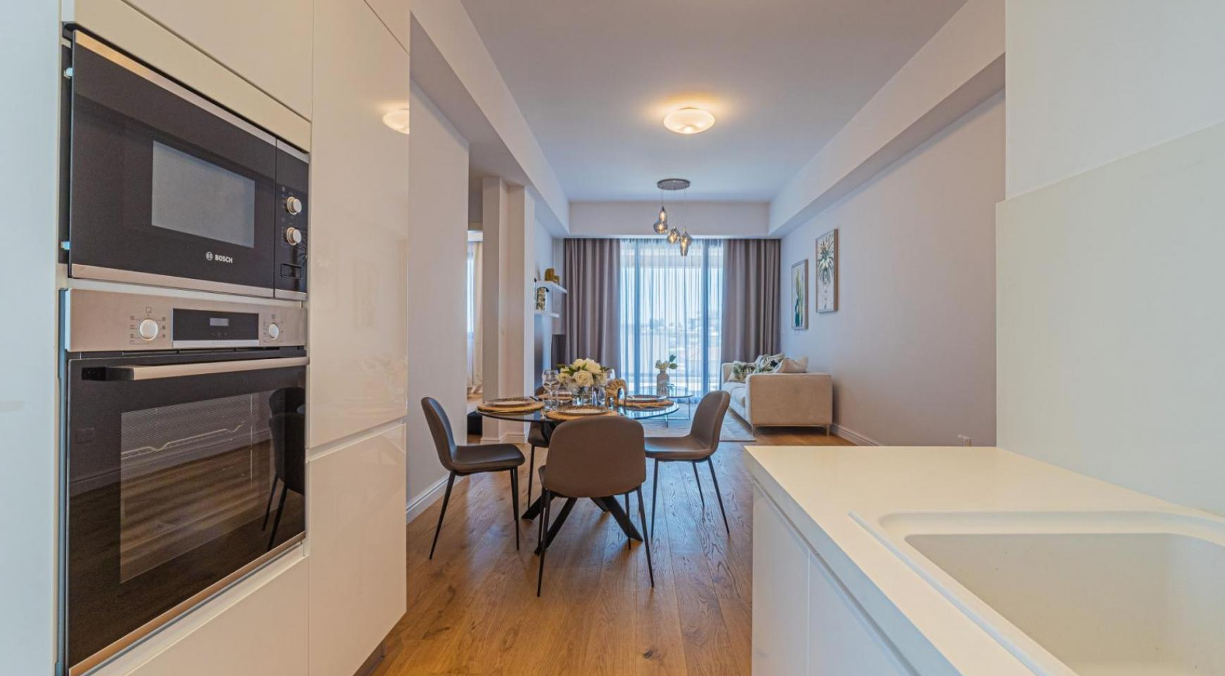 Hortensia Residence, Apt. 302. 2 Bedroom Apartment within a New Complex near the Sea  - 55