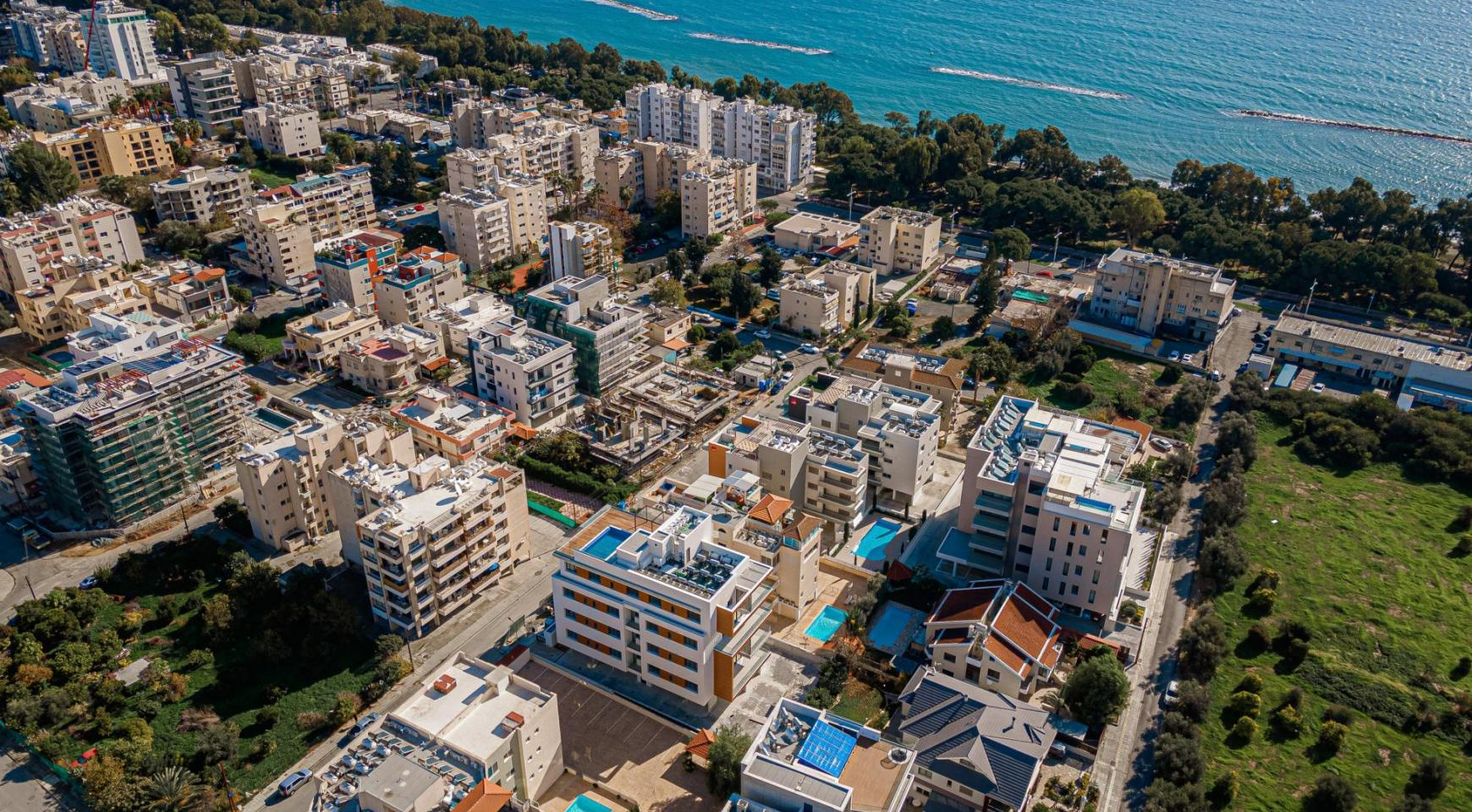Hortensia Residence, Apt. 301. 2 Bedroom Apartment within a New Complex near the Sea  - 3