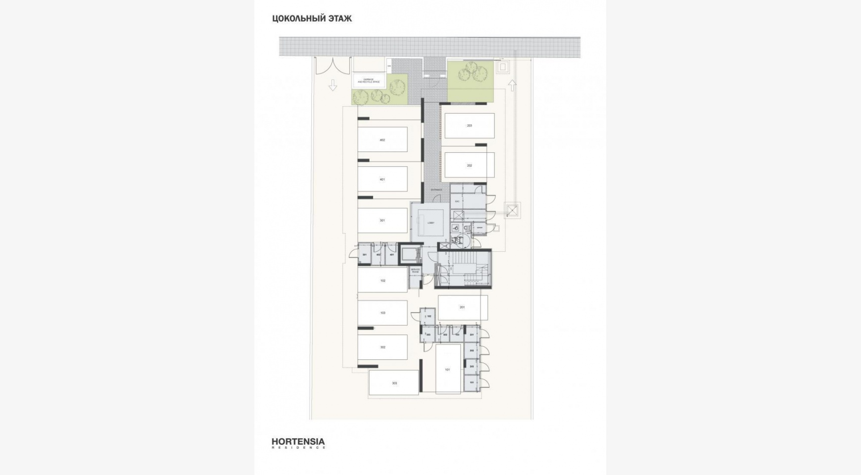 Hortensia Residence, Apt. 301. 2 Bedroom Apartment within a New Complex near the Sea  - 66