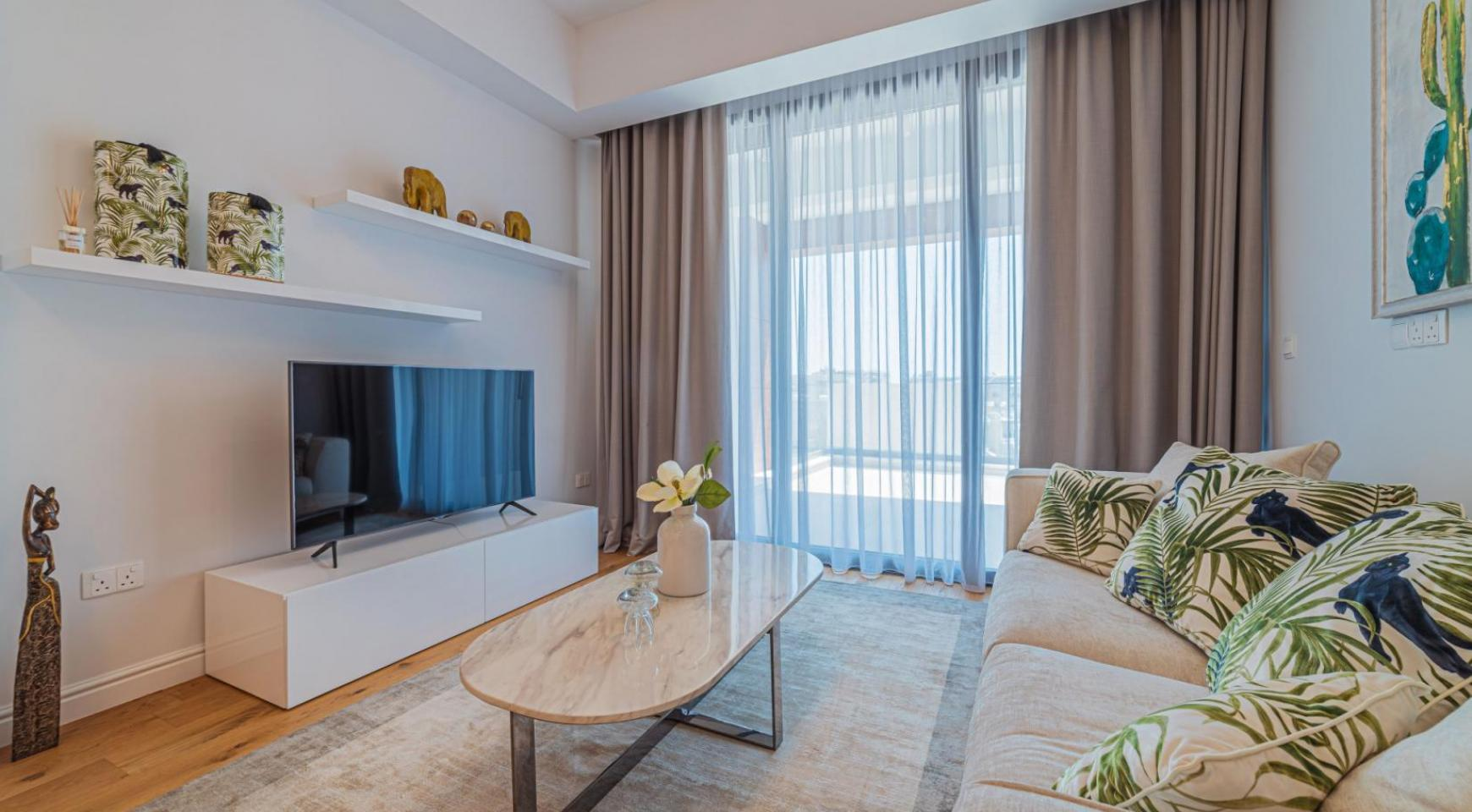 Hortensia Residence, Apt. 301. 2 Bedroom Apartment within a New Complex near the Sea  - 50