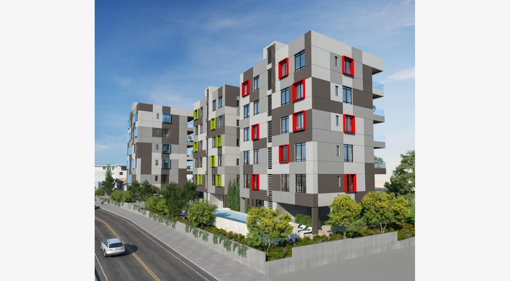 Urban City Residences, Apt. С 501. 3 Bedroom Apartment within a New Complex in the City Centre - 33