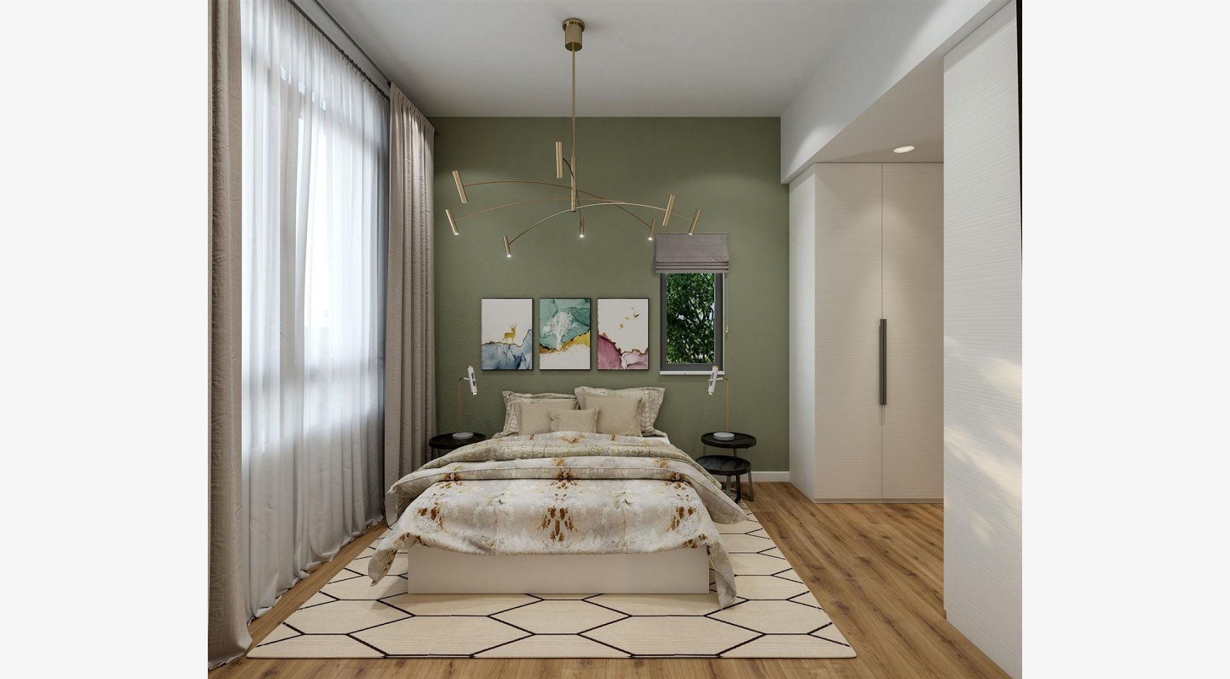 Urban City Residences, Apt. С 501. 3 Bedroom Apartment within a New Complex in the City Centre - 23