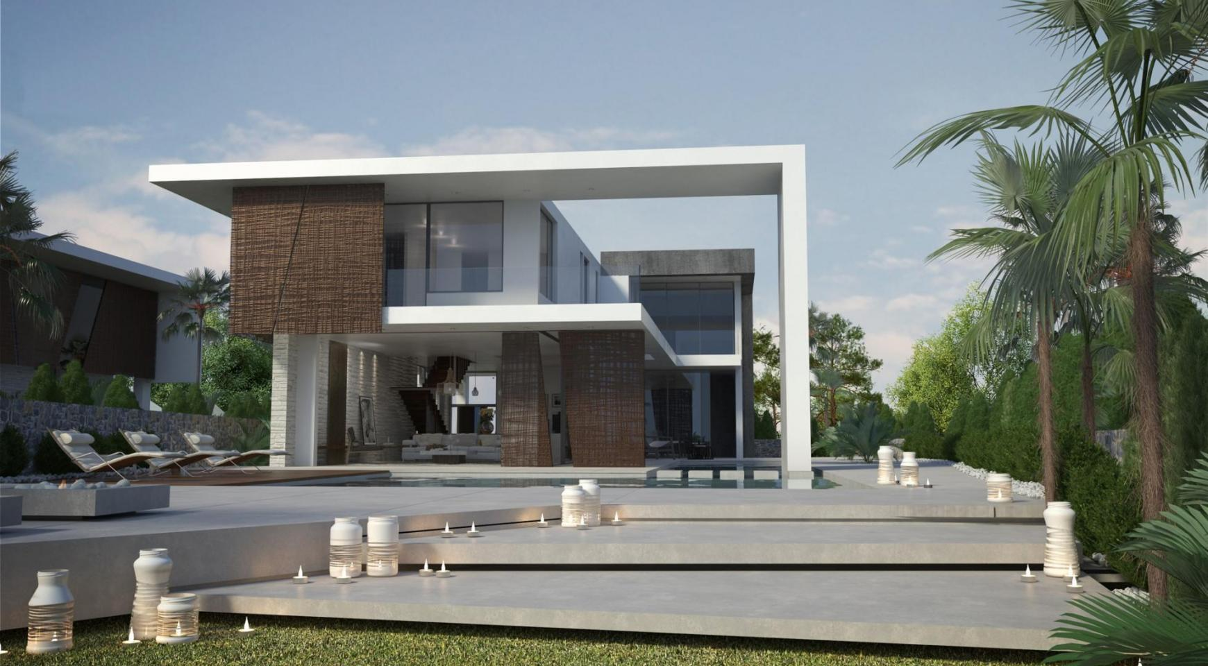 Contemporary Seafront Villa in Ayia Thekla Area - 2
