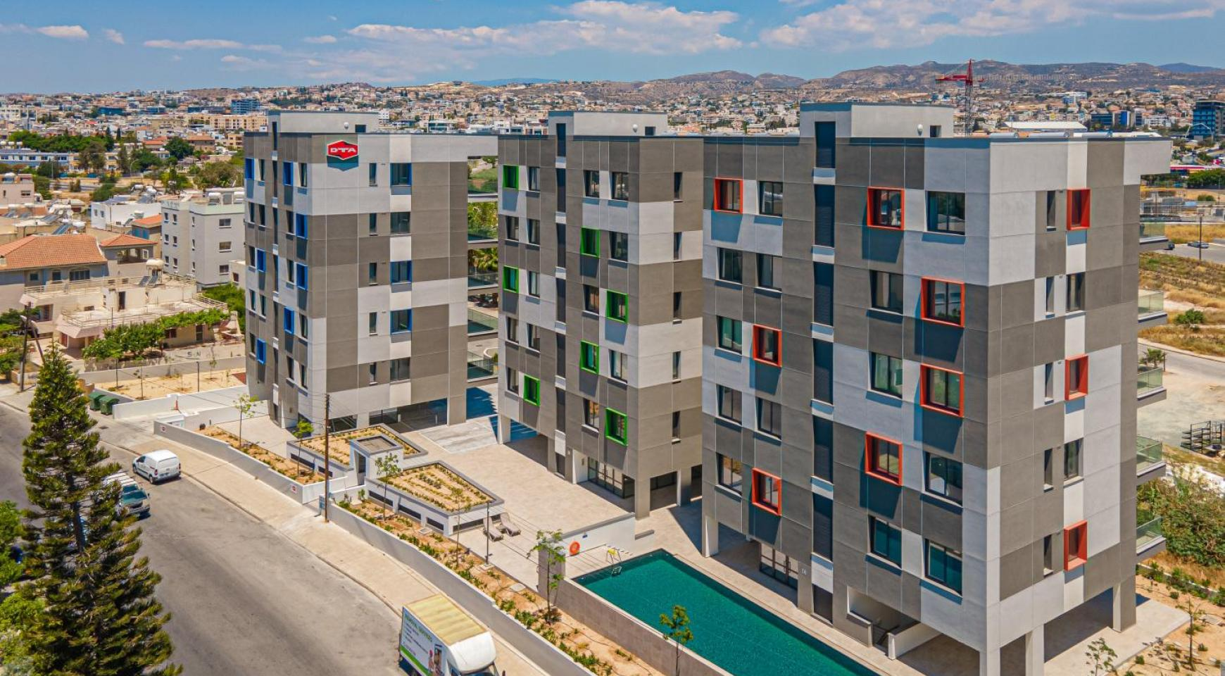 Urban City Residences, Apt. A 201. 3 Bedroom Apartment within a New Complex in the City Centre - 3
