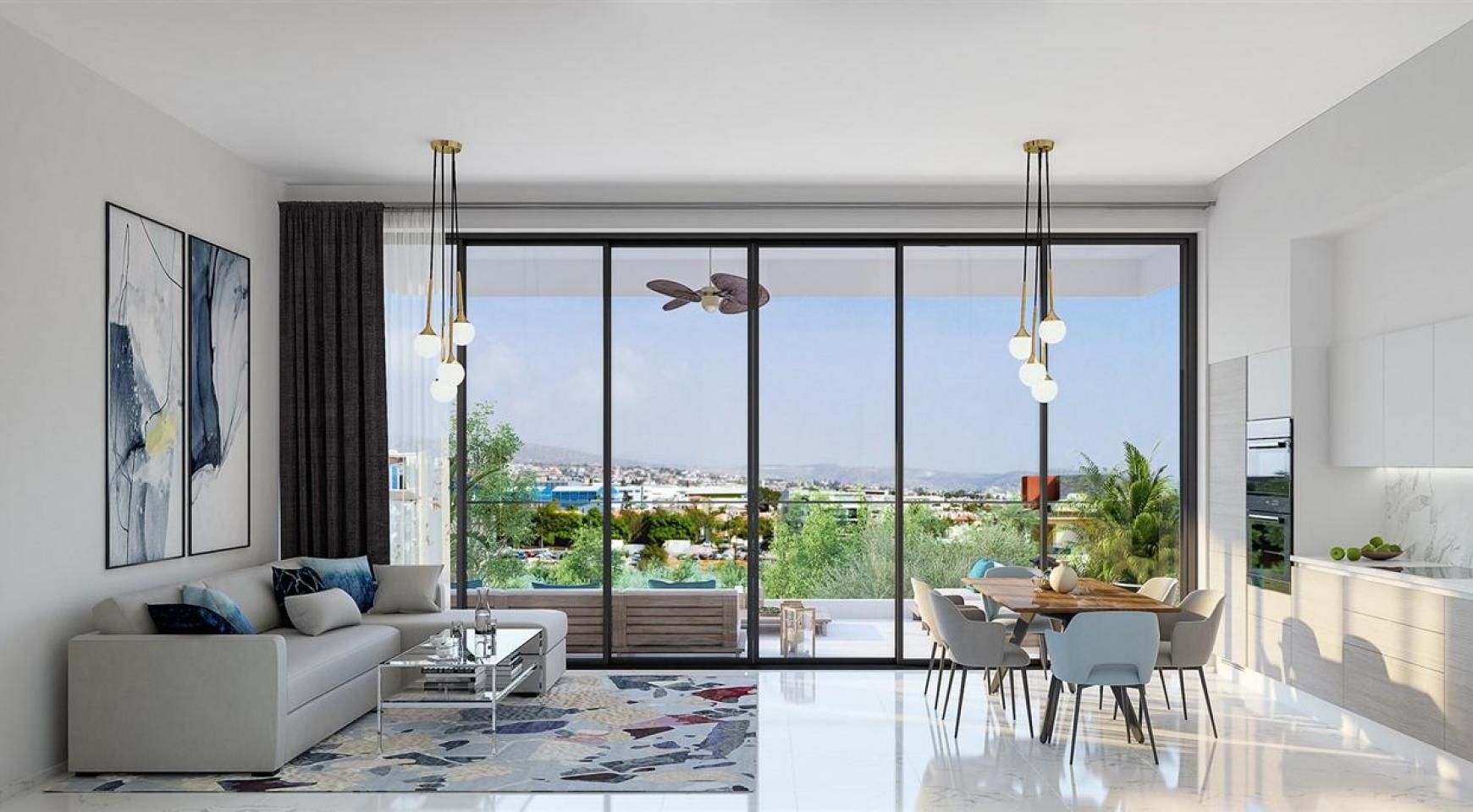Urban City Residences, Block A. New Spacious 2 Bedroom Apartment 202 in the City Centre - 20