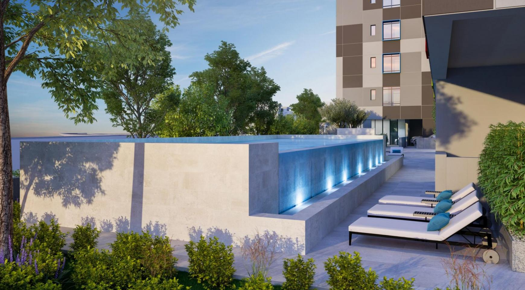Urban City Residences, Block A. New Spacious 2 Bedroom Apartment 202 in the City Centre - 38