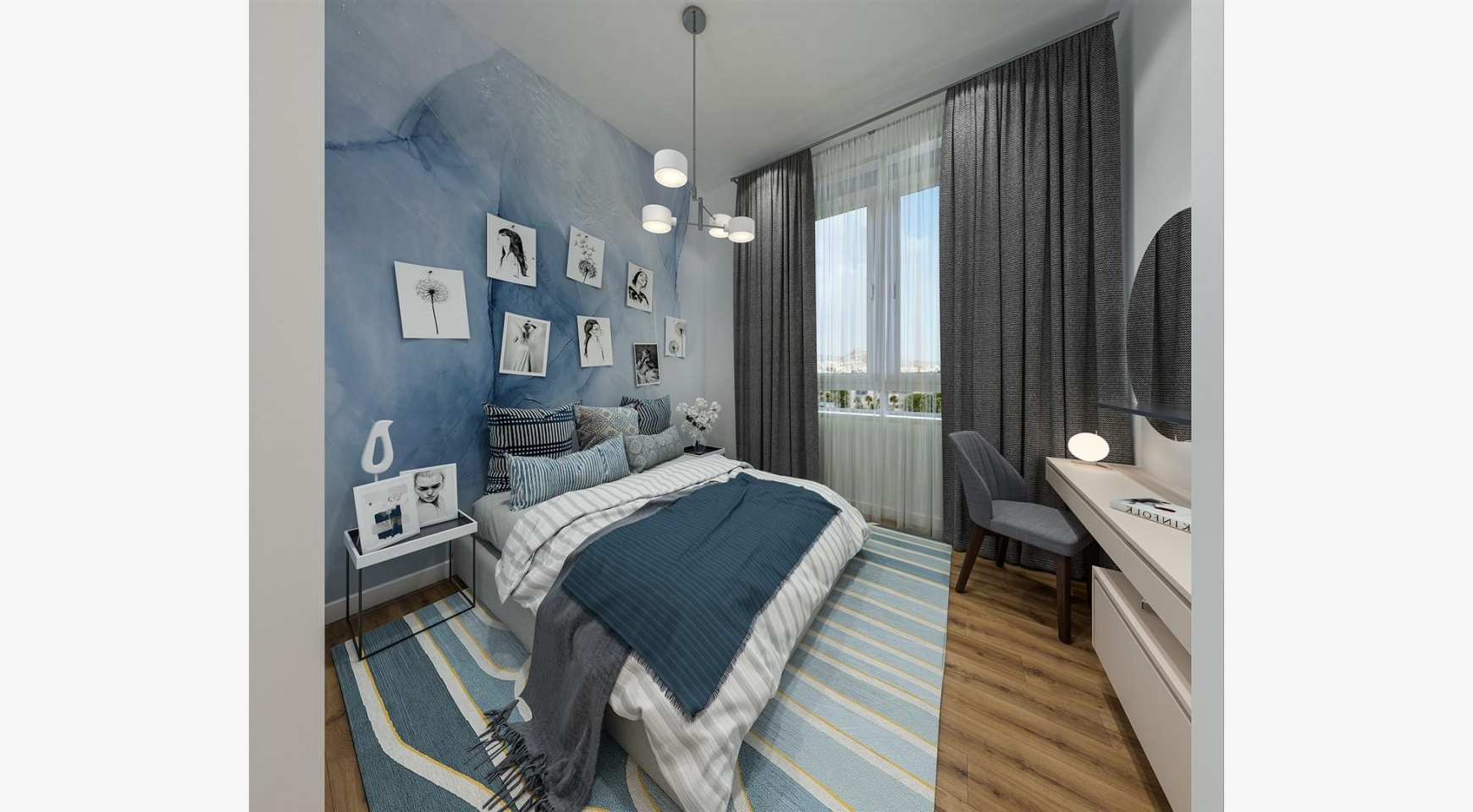 Urban City Residences, Block A. New Spacious 2 Bedroom Apartment 202 in the City Centre - 25