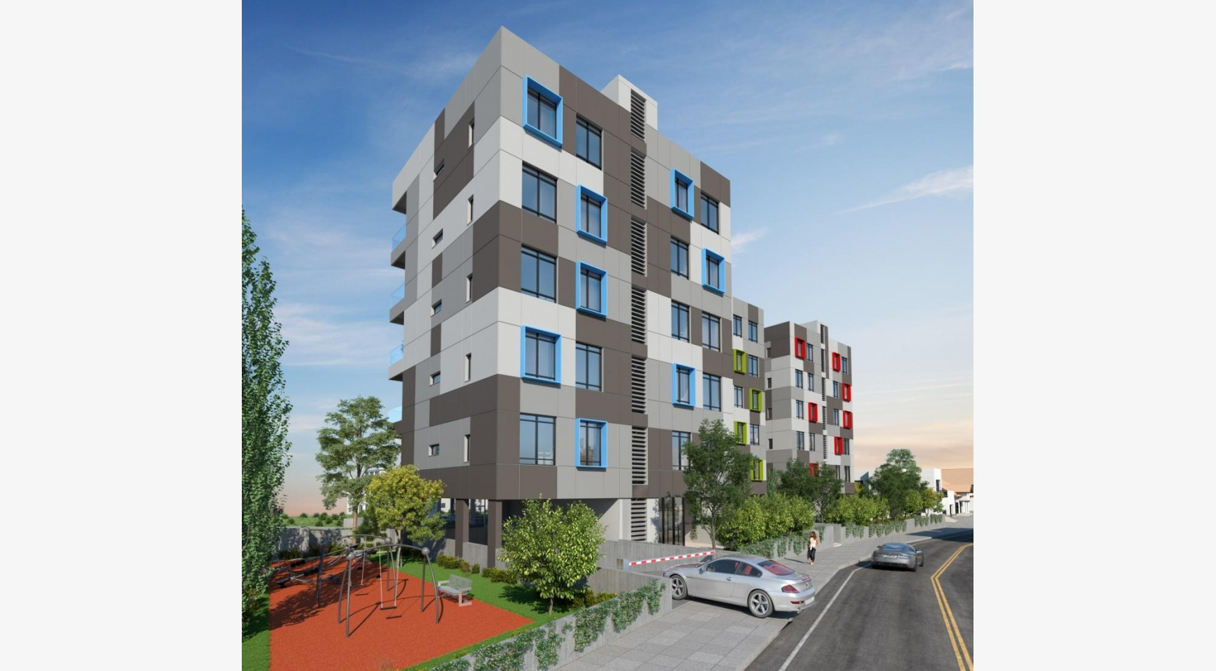 Urban City Residences, Block A. New Spacious 2 Bedroom Apartment 202 in the City Centre - 35