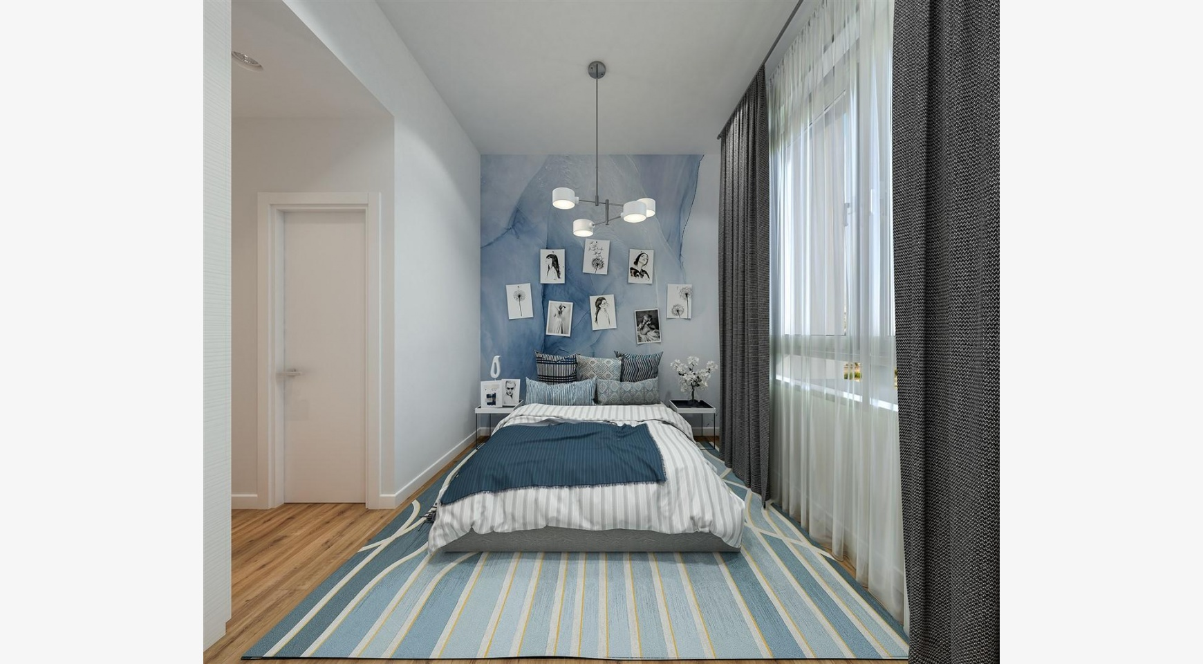 Urban City Residences, Block A. New Spacious 2 Bedroom Apartment 202 in the City Centre - 23