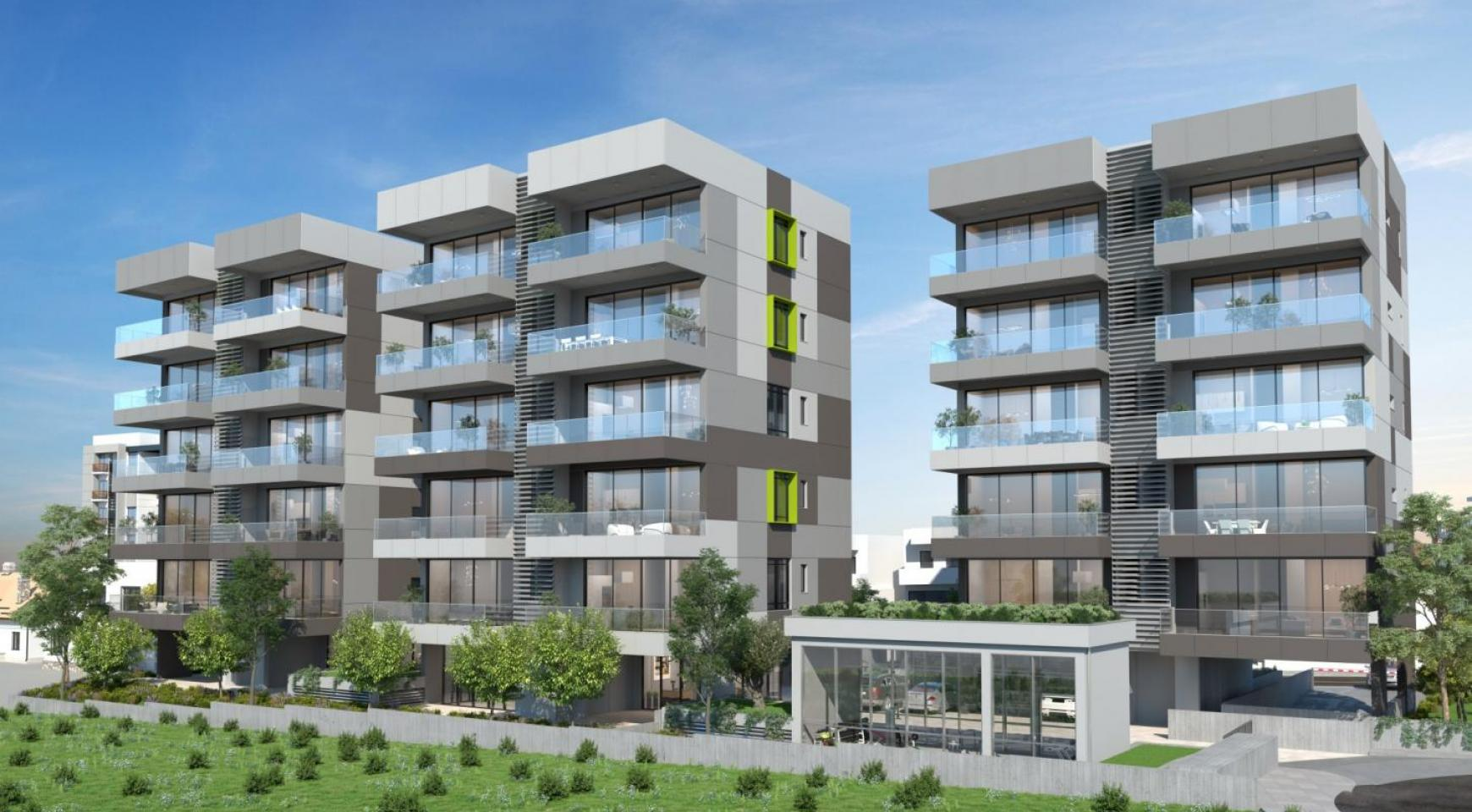 Urban City Residences, Block A. New Spacious 2 Bedroom Apartment 202 in the City Centre - 32