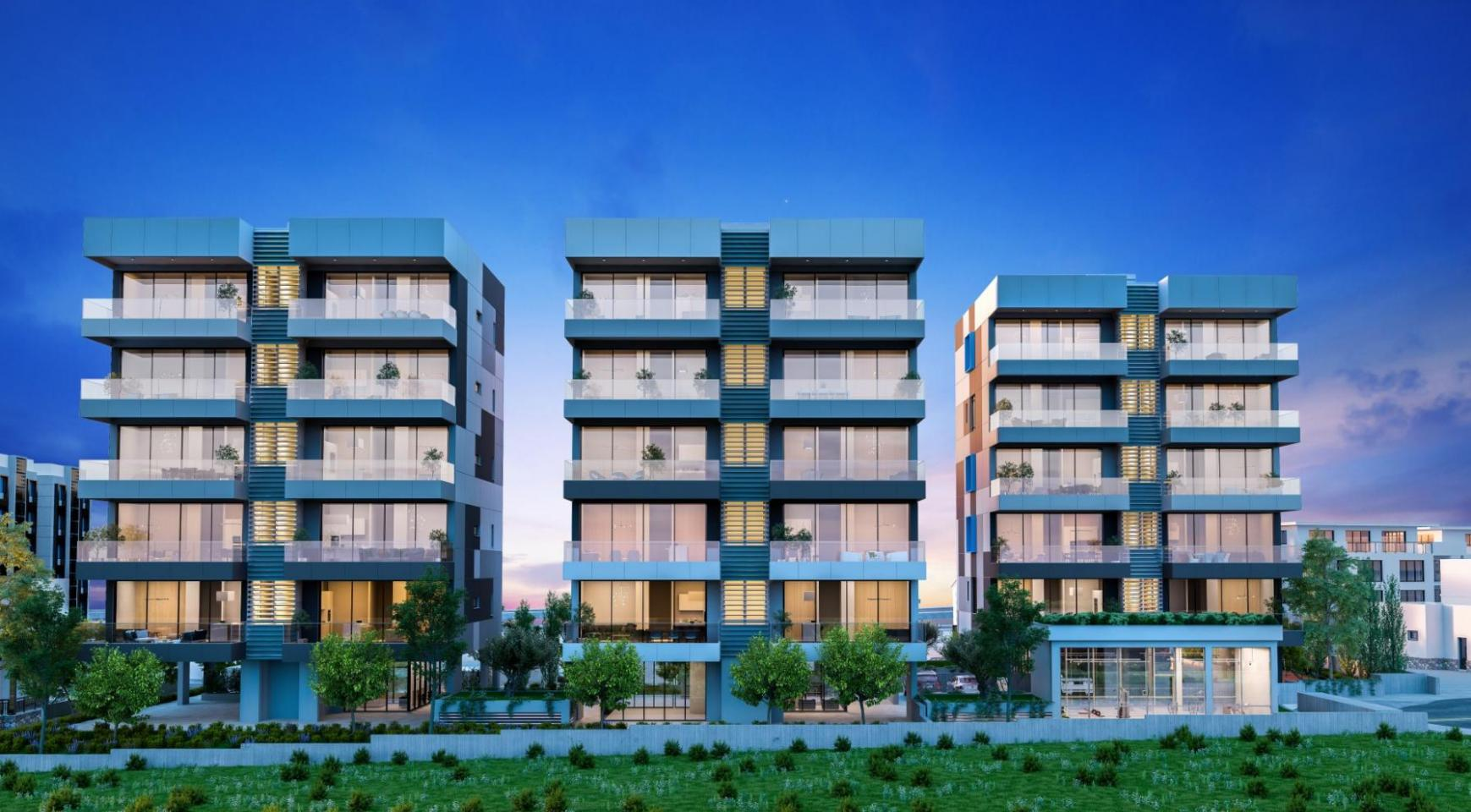 Urban City Residences, Block A. New Spacious 2 Bedroom Apartment 202 in the City Centre - 34