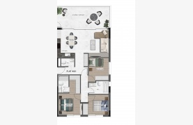 Urban City Residences, Block A. New Spacious 3 Bedroom Apartment 401 in the City Centre - 87