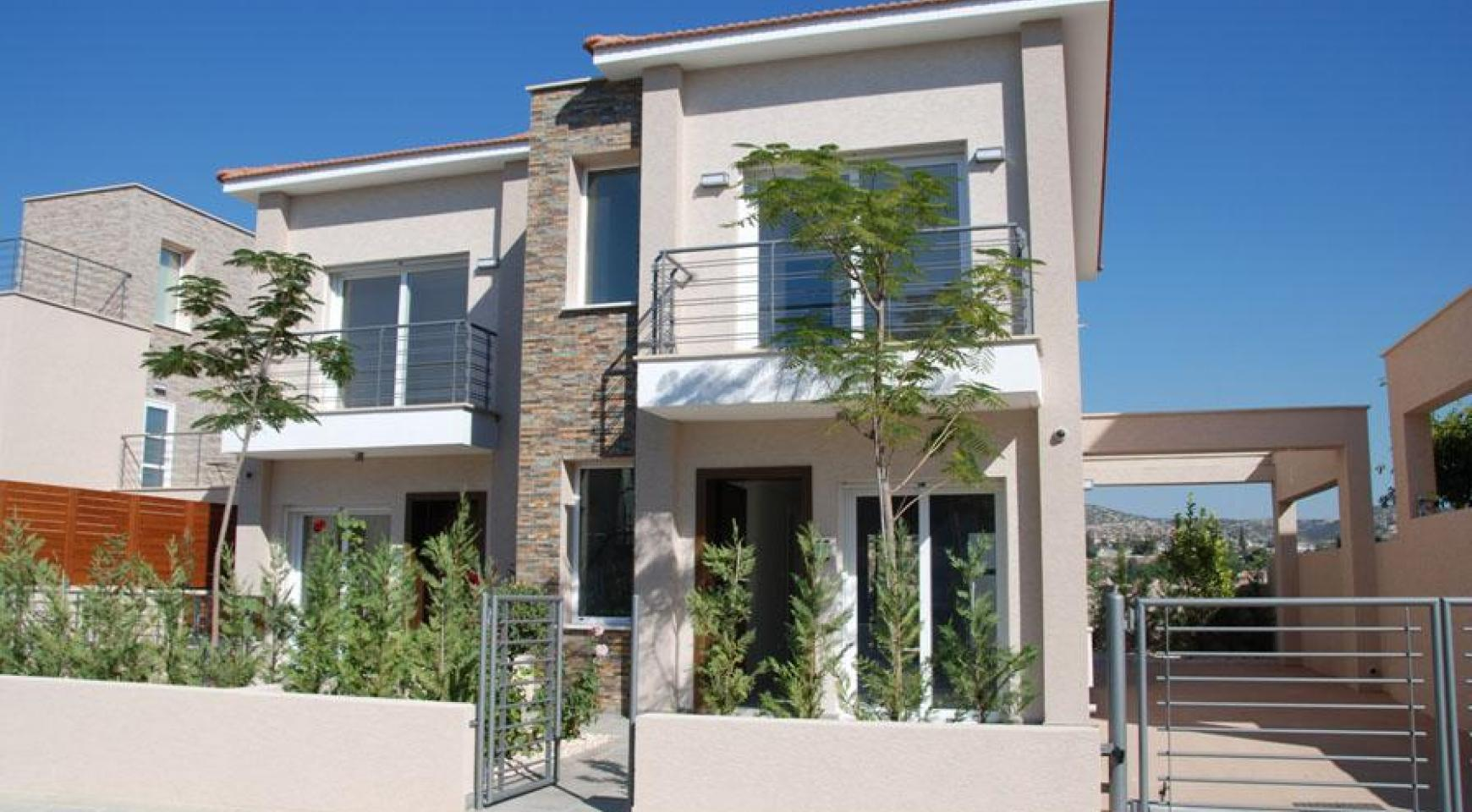 Modern 2 Bedroom House with Sea and Mountain Views in Mesovounia - 1