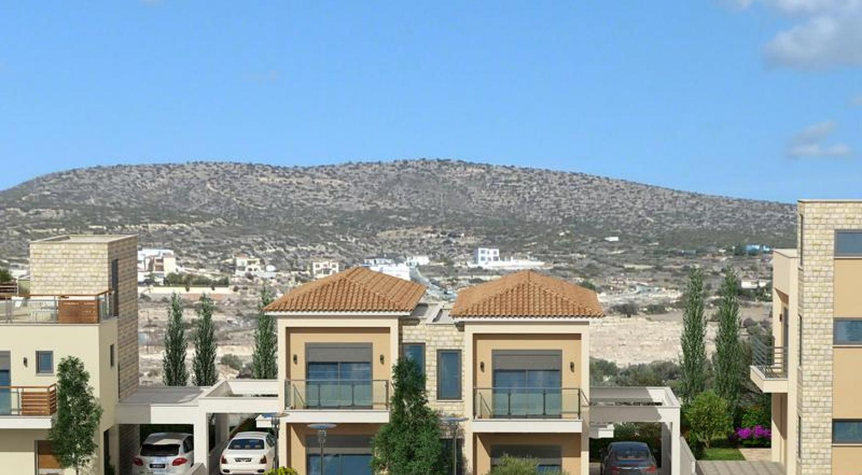 Modern 2 Bedroom House with Sea and Mountain Views in Mesovounia - 7