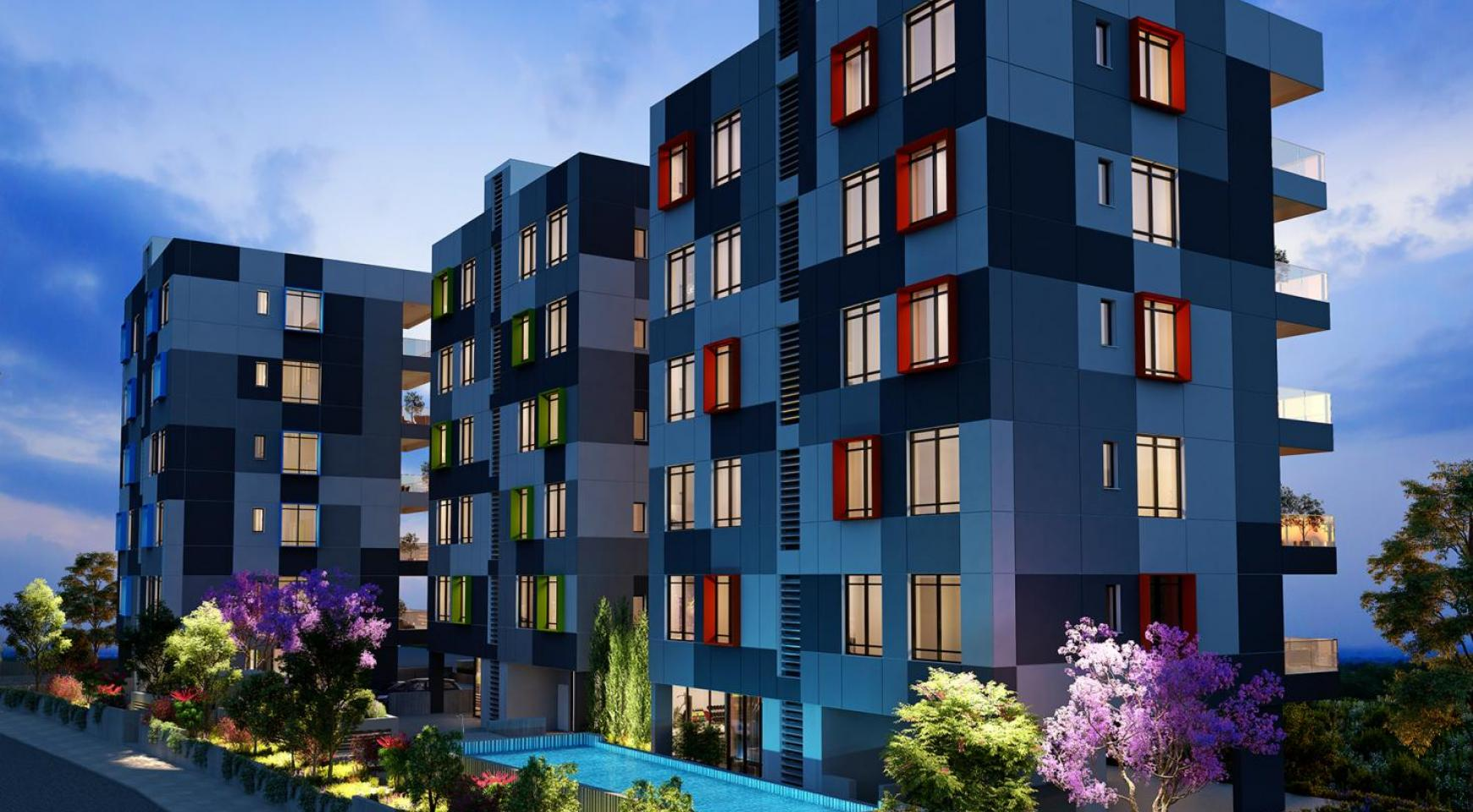 Urban City Residences, Block B. New Spacious 3 Bedroom Apartment 201 in the City Centre - 19