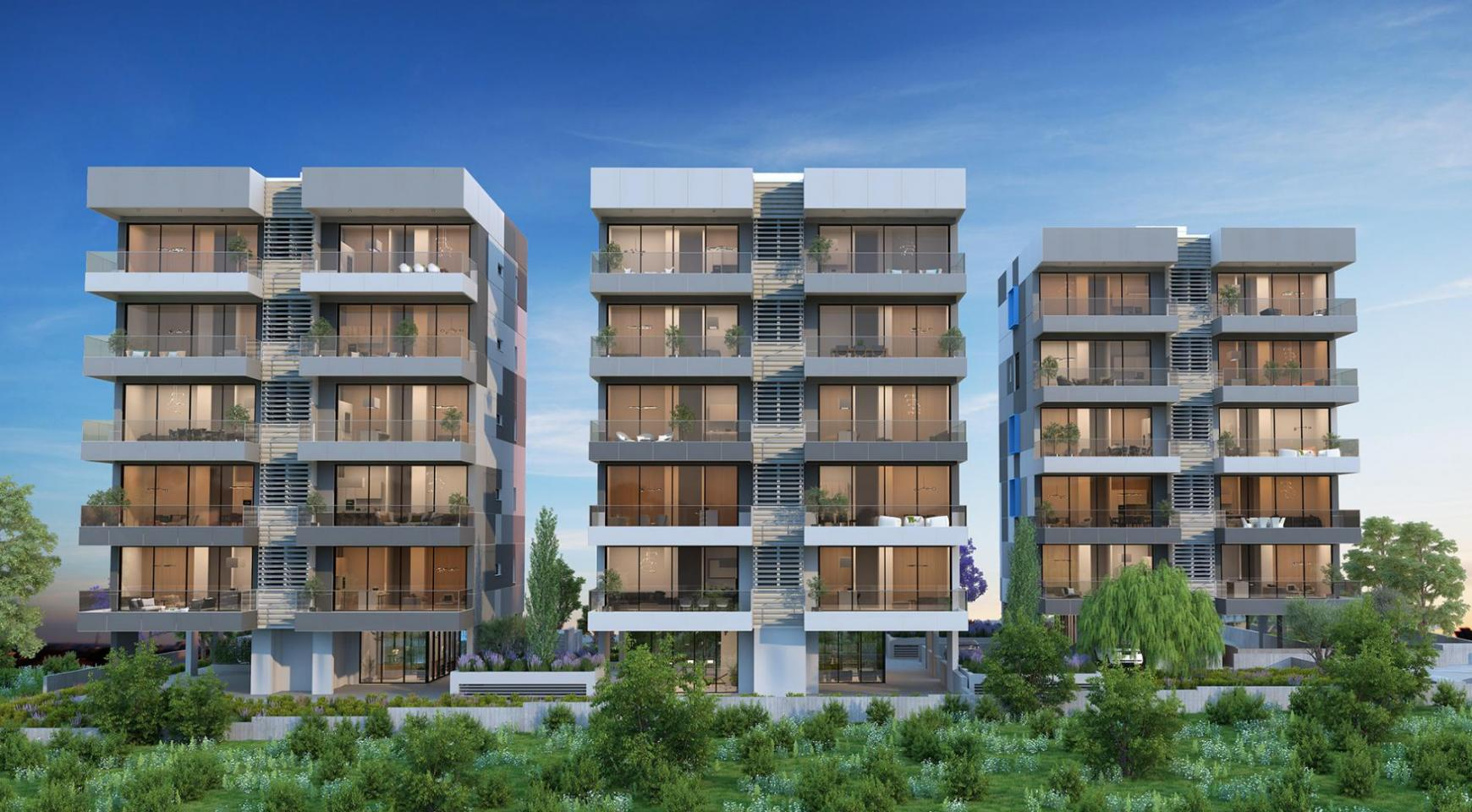 Urban City Residences, Block B. New Spacious 3 Bedroom Apartment 301 in the City Centre - 18