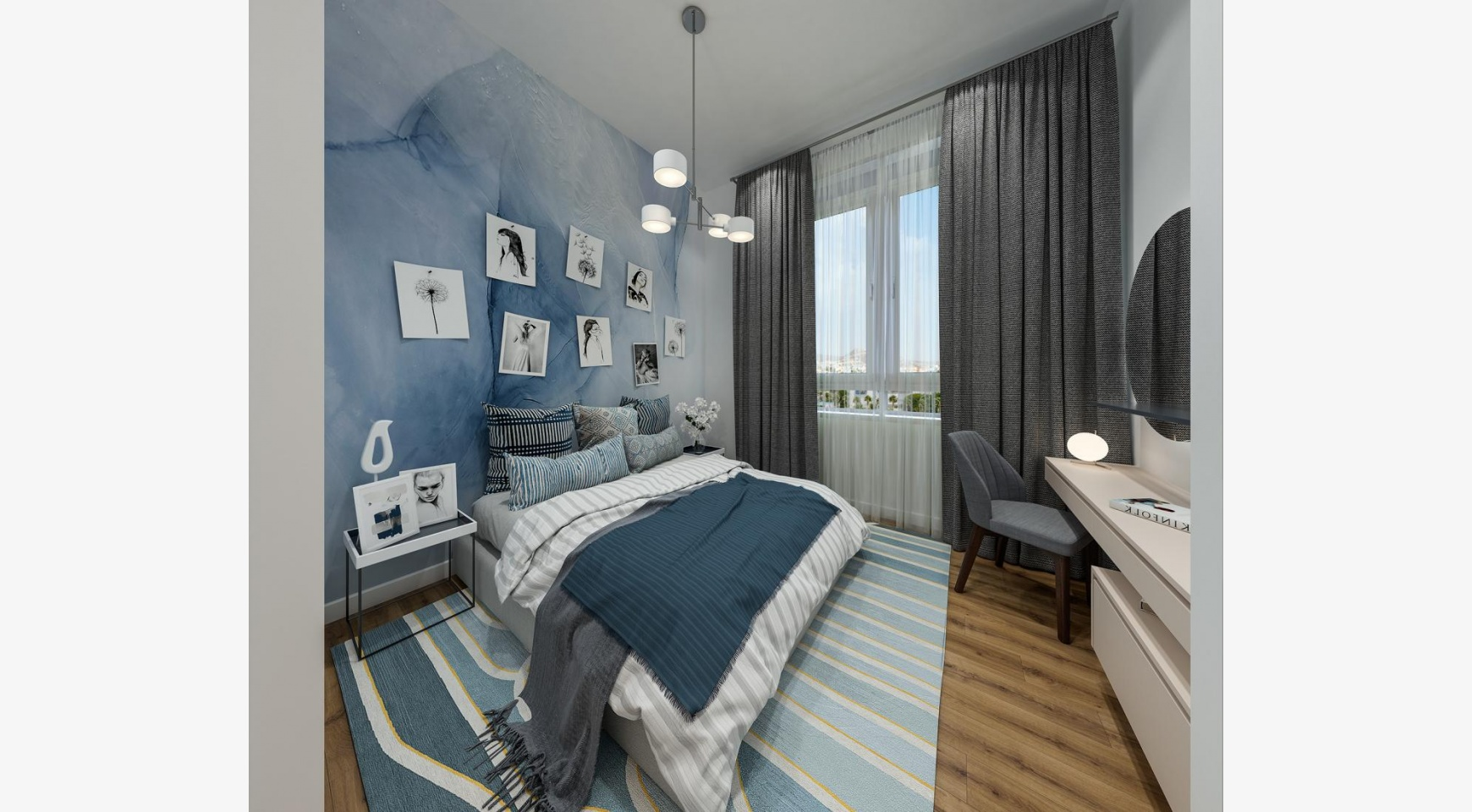 Urban City Residences, Block B. New Spacious 3 Bedroom Apartment 301 in the City Centre - 10