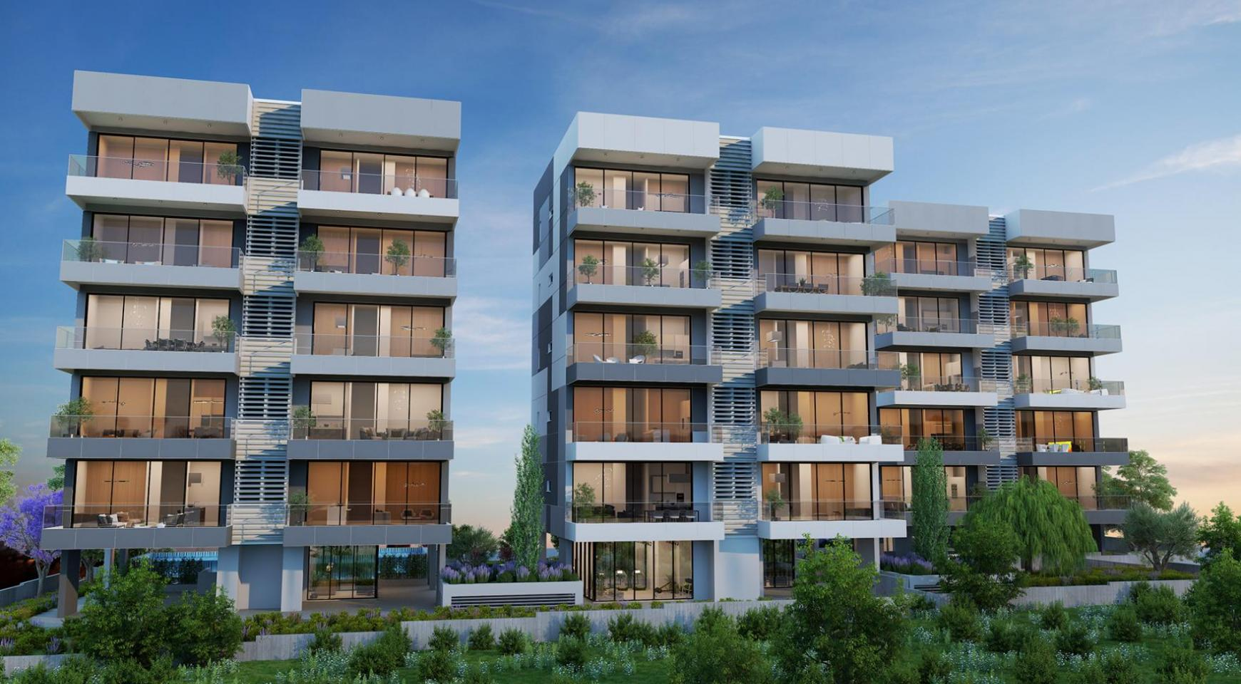 Urban City Residences, Block B. New Spacious 3 Bedroom Apartment 301 in the City Centre - 23