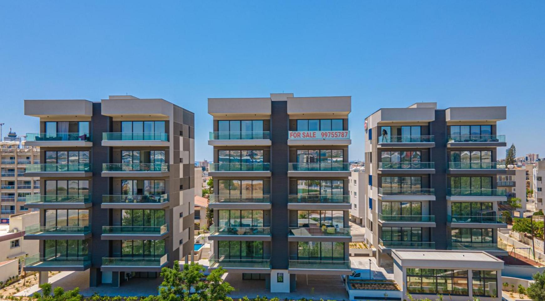 Urban City Residences, Apt. B 402. 2 Bedroom Apartment within a New Complex in the City Centre - 1