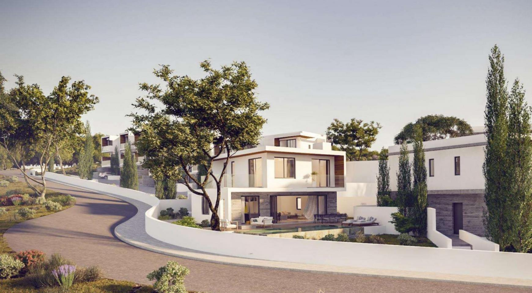 Luxurious 3 Bedroom Villa in a New Project in Agios Tychonas - 11