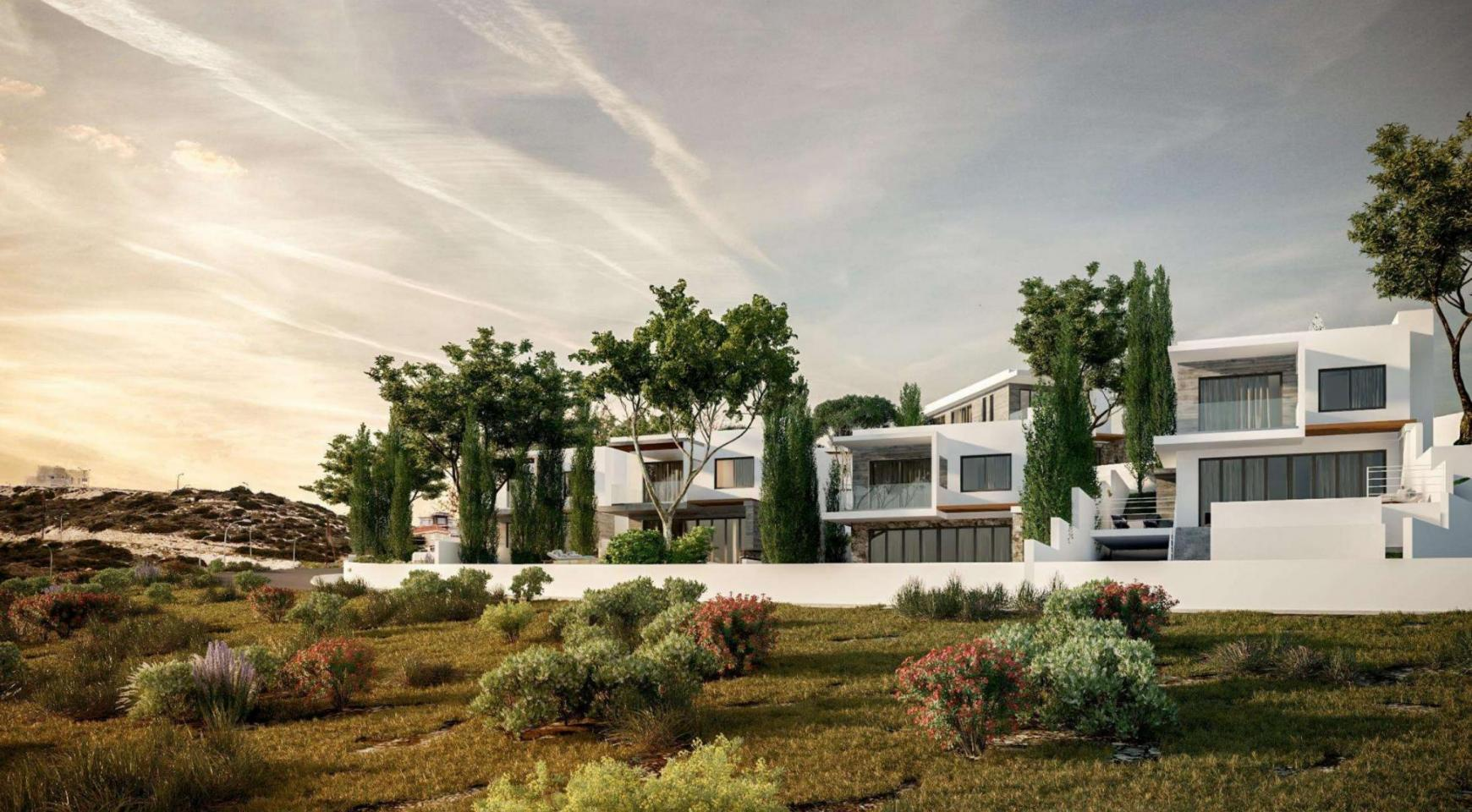Luxurious 3 Bedroom Villa in a New Complex in Agios Tychonas Area - 9