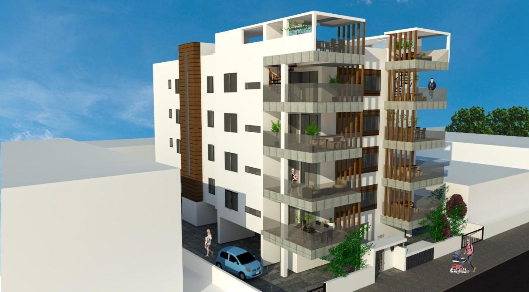 New 2 Bedroom Apartment with Roof Garden in a Contemporary Building in the Town Centre - 2