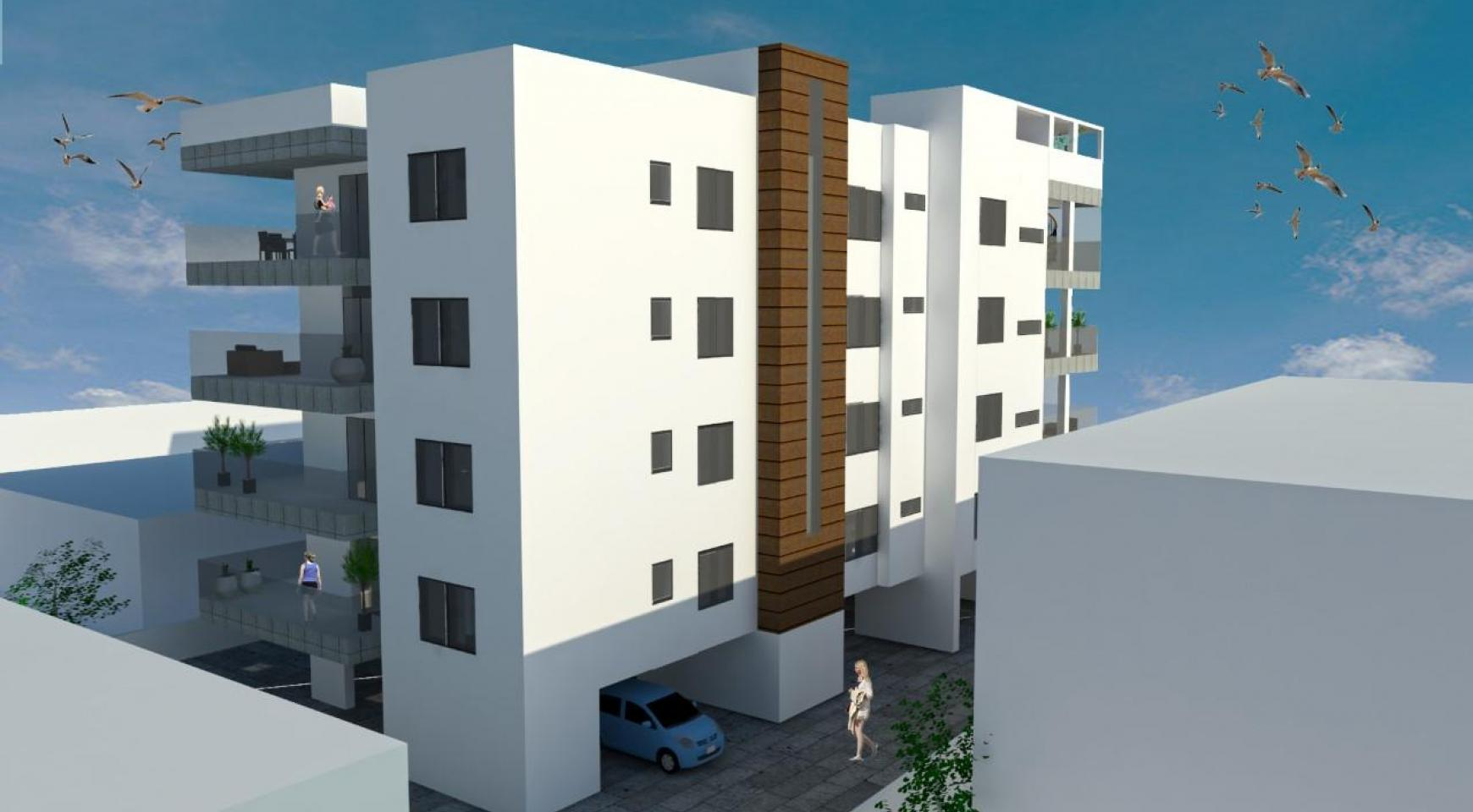 New 2 Bedroom Apartment with Roof Garden in a Contemporary Building in the Town Centre - 3