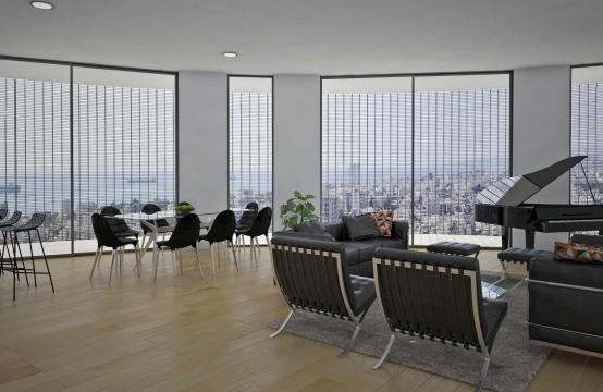3 Bedroom Penthouse with Panoramic Sea and City Views