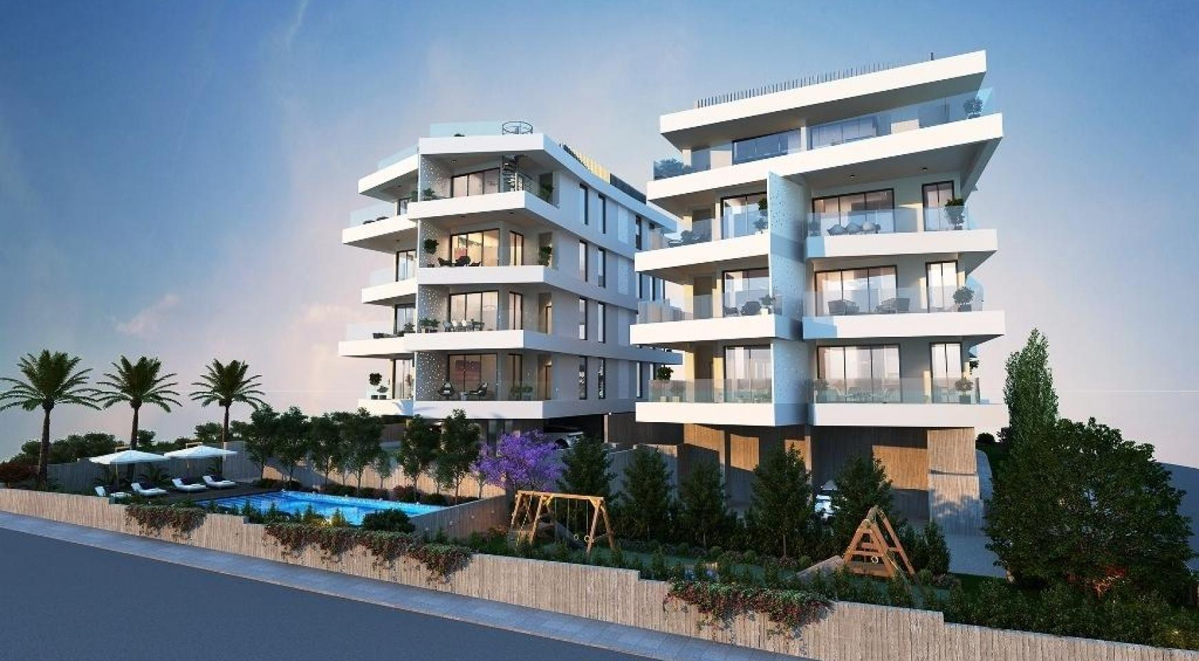 New 2 Bedroom Apartment in a Contemporary Building in Germasogeia Area - 4