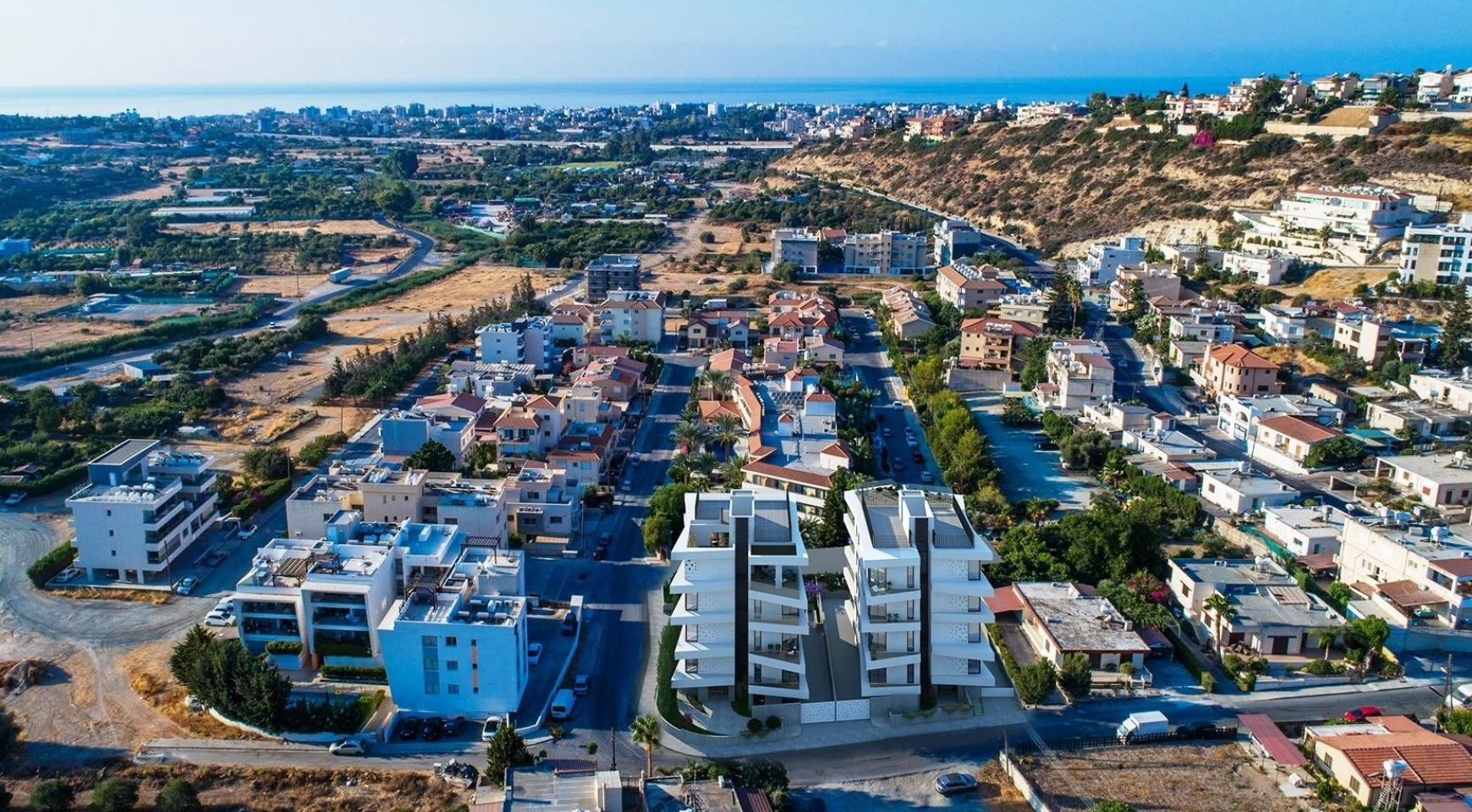 New 2 Bedroom Apartment in a Contemporary Building in Germasogeia Area - 10