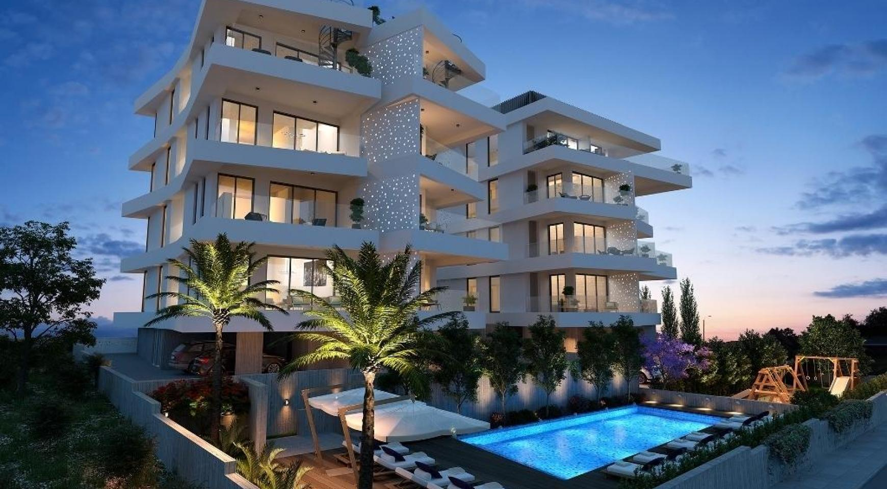 New 3 Bedroom Apartment in a Contemporary Complex in Germasogeia - 1