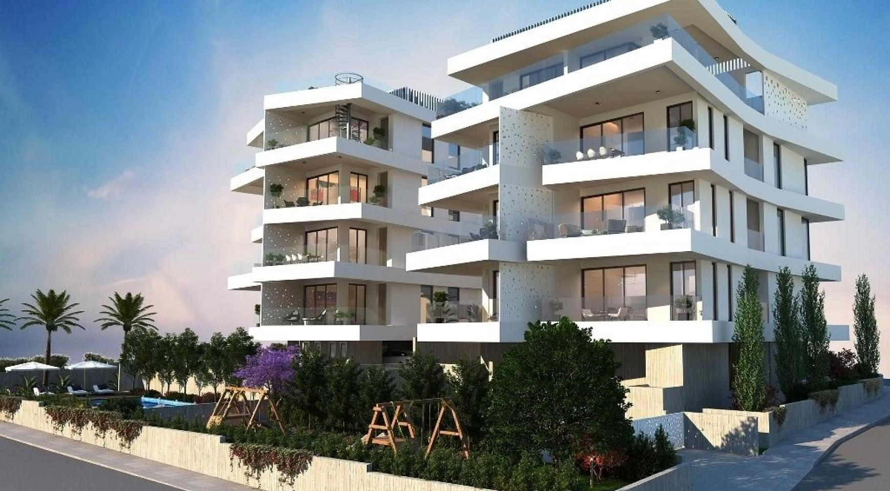 New 2 Bedroom Apartment in a Contemporary Building in Germasogeia Area - 6