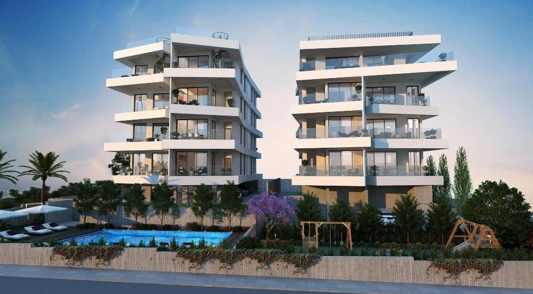 New 3 Bedroom Apartment in a Contemporary Complex in Germasogeia - 4