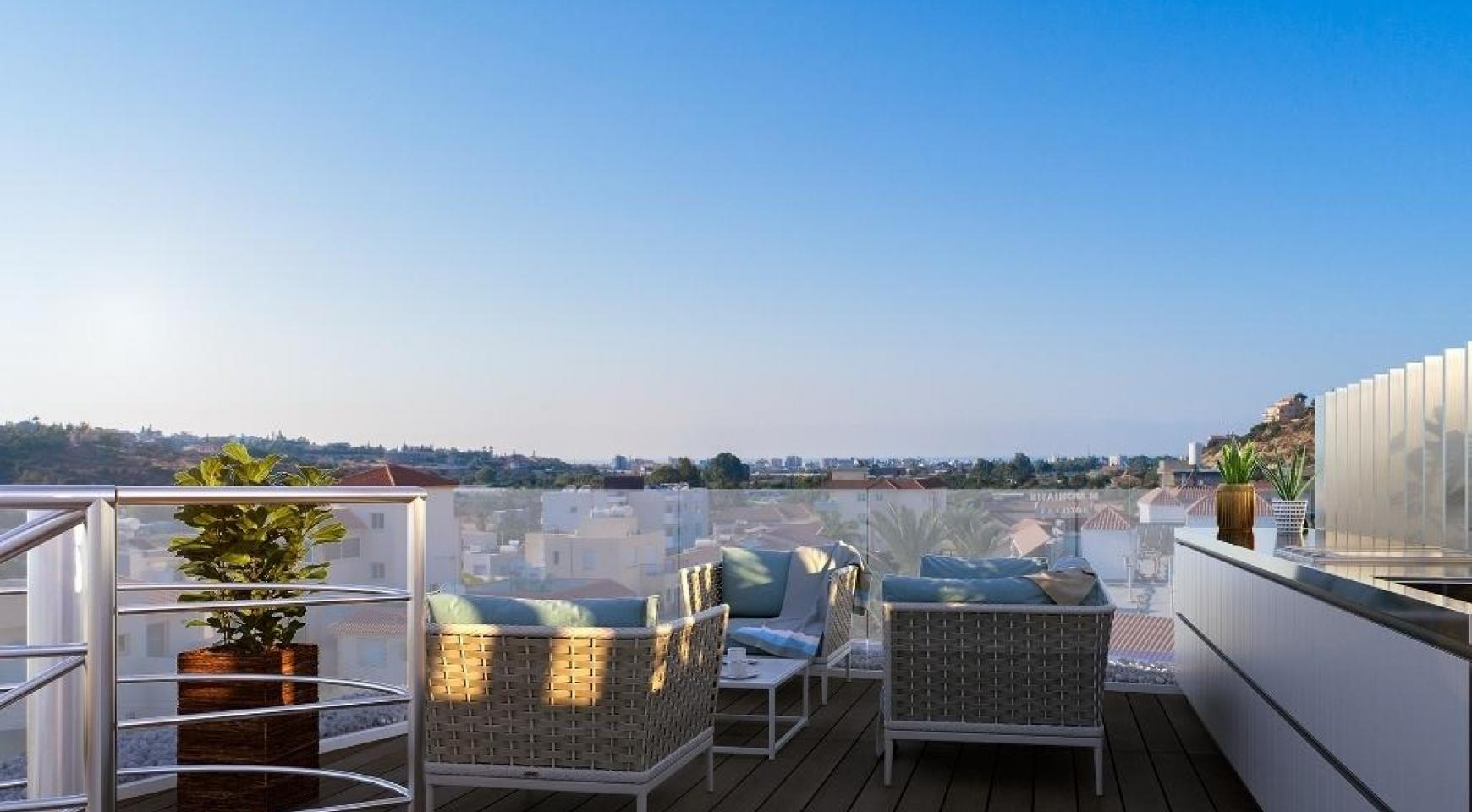 New 3 Bedroom Penthouse in a Contemporary Complex in Germasogeia - 8