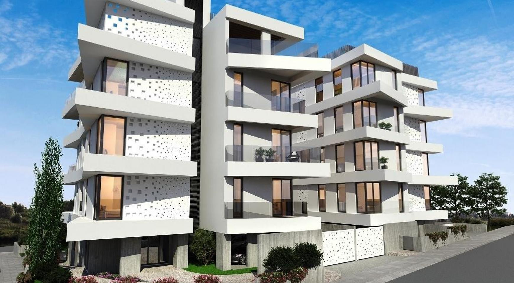 New 3 Bedroom Penthouse in a Contemporary Complex in Germasogeia - 9